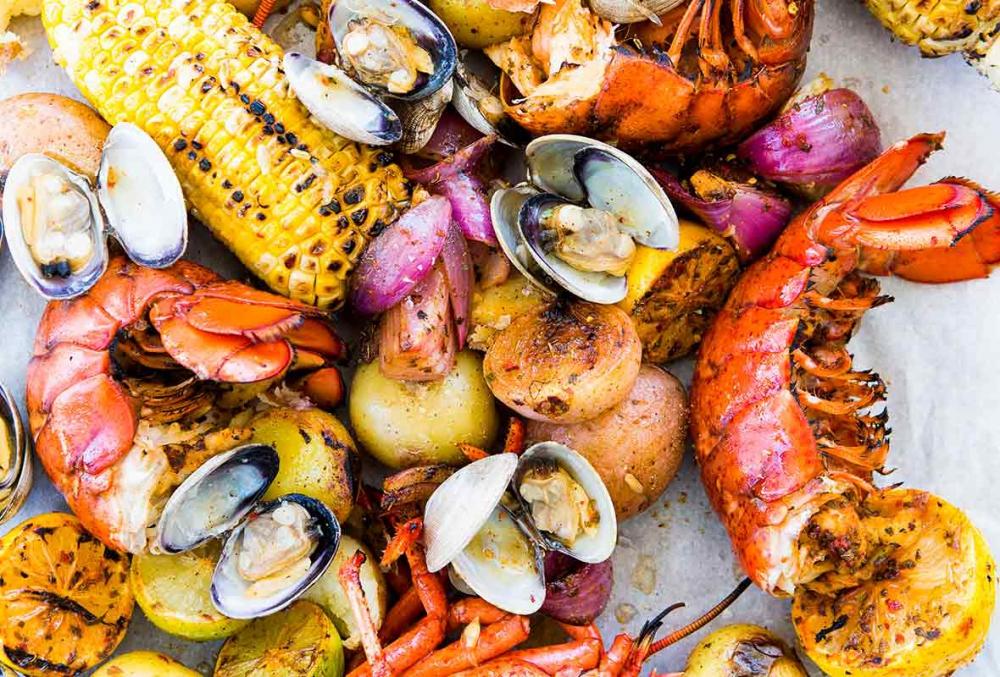 Clambake avagy életérzés a keleti partról - Vacsoraest