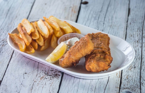 Fish and chips az igazi street food